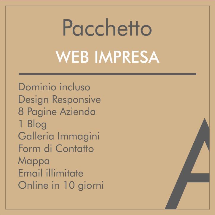 Pacchetto web impresa