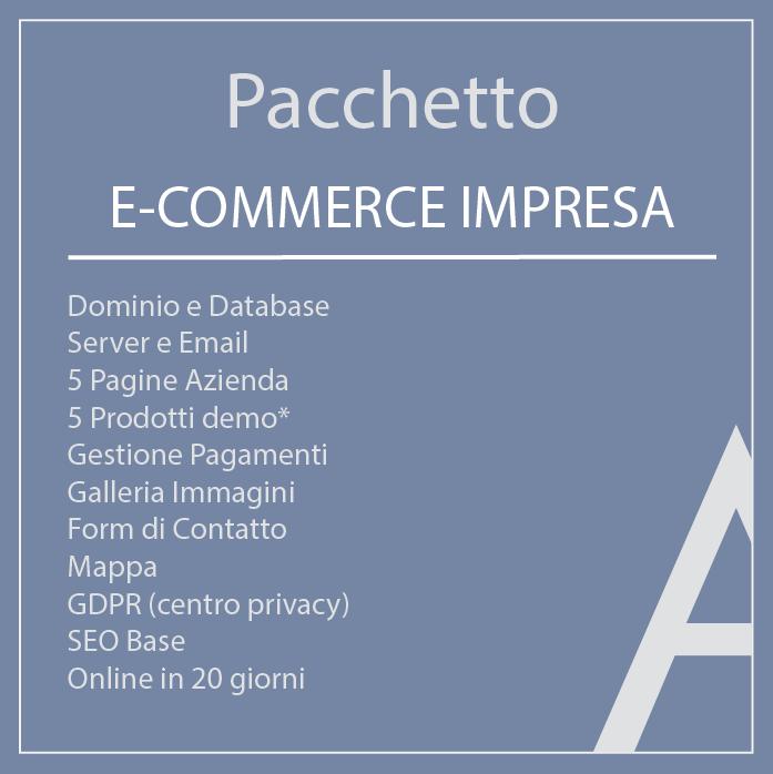 Pacchetto E-commerce Impresa