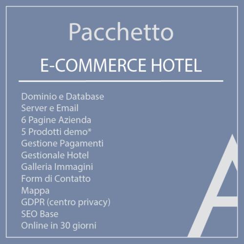 Pacchetto E-commerce Hotel