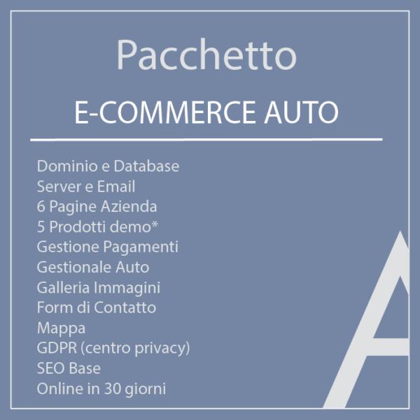 Pacchetto E-Commerce auto