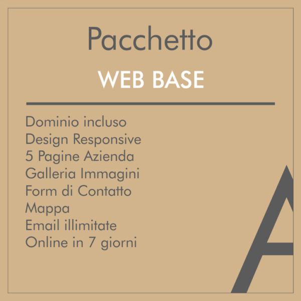 Pacchetto Sito Web base