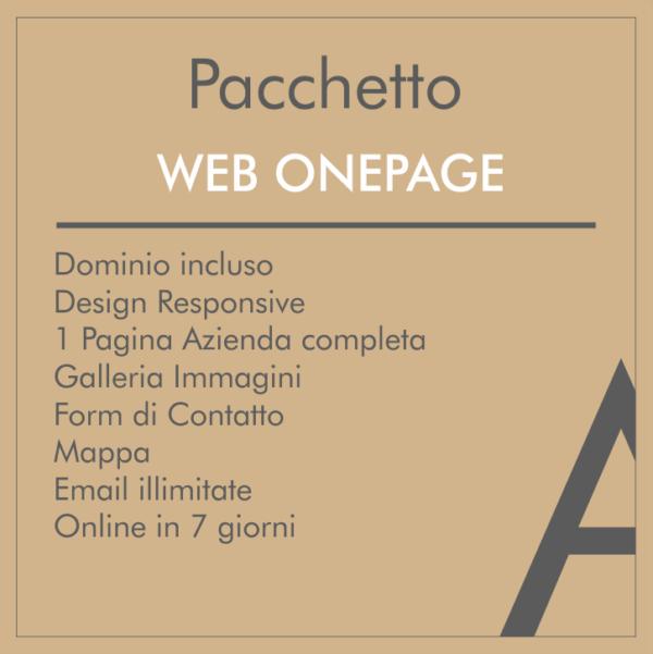 Pacchetto Sito Web onepage